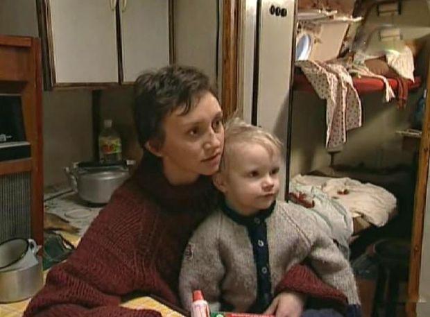 Римма Зюбіна з сином Данилом