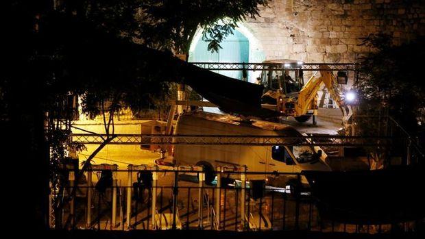 Металодетектори біля Храмової гори вже демонтовують