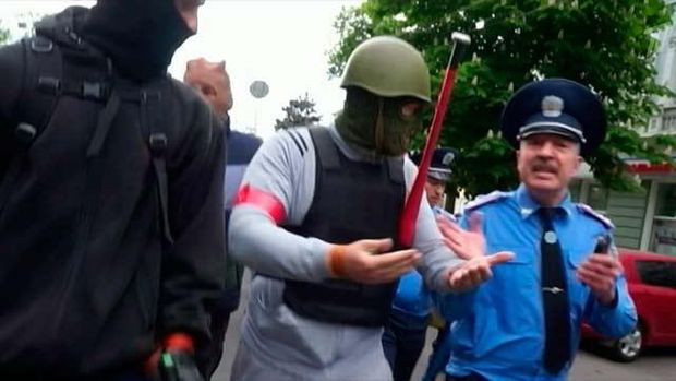 Фучеджи супроводжував проросійськи налаштованих агресивних молодиків