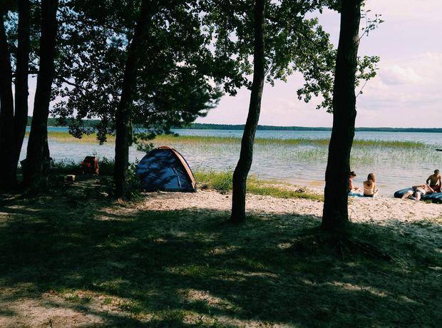 Кемпінг на Білому озері