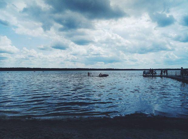 Біле озеро розташоване біля села Рудка (Рівненська область)