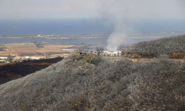 УФранції терміново евакуювали 10 тисяч людей через лісові пожежі