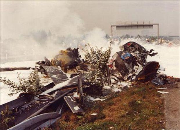 Авіакатастрофа у Маннгеймі
