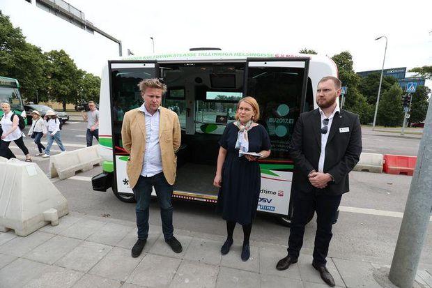 Безпілотні автобуси в Естонії