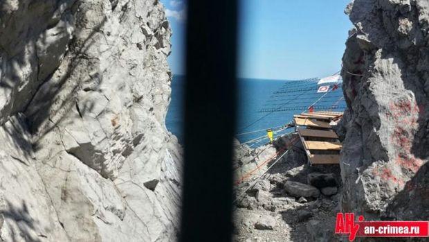 У Криму поламався міст