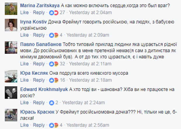 Фреймут, інтернет, Бережна