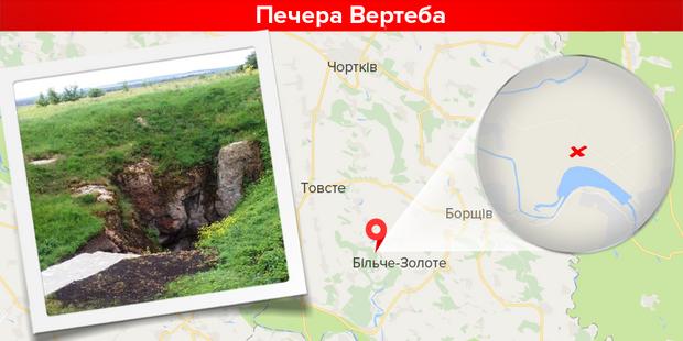 Печери України