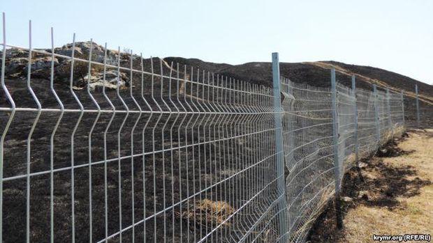 Вокупованому Криму сталася пожежа натериторії археологічного комплексу «Пантікапей»