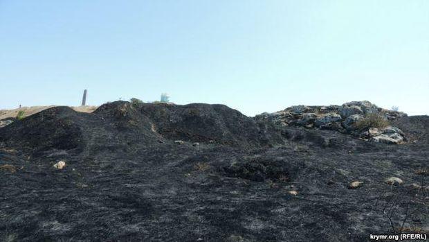 УКерчі трапилася пожежа вархеологічному комплексі «Пантікапей»
