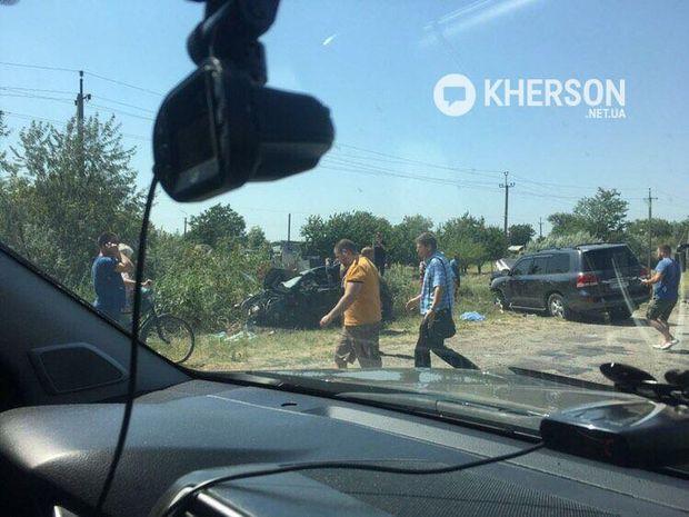 Жінка-водій і 5-річний хлопець загинули на місці