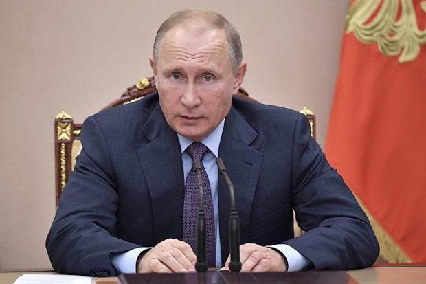 Путін скликав Раду безпеки Росії