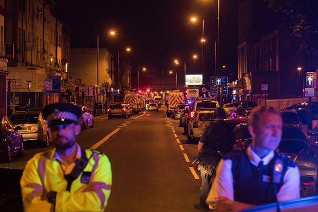 Теракт поблизу мечеті у Лондоні