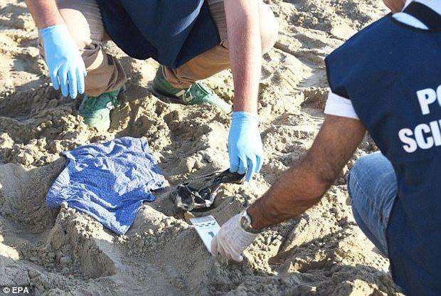 Напад на туристів в Італії. Фото з місця злочину