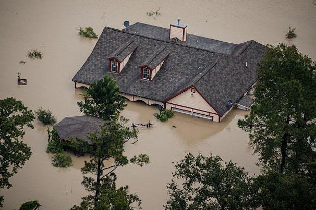 Наслідки потужного урагану Харві