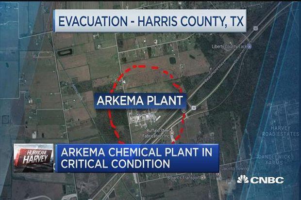 Два вибухи пролунали на хімічному заводі біля Х'юстона