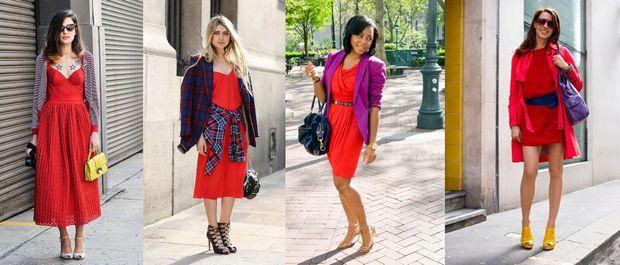 Червона сукня – хіт осені 2017