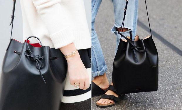 Must-have осені-2017: сумка-мішок зі шкіри