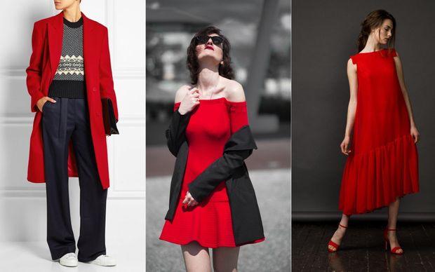 Червоний – трендовий колір осені 2017