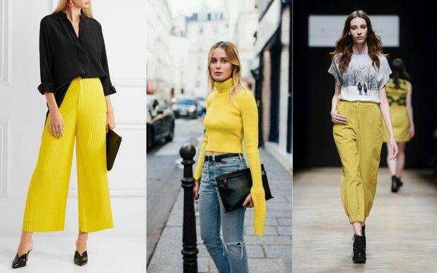 Жовтий колір – буде популярним в сезоні осінь 2017