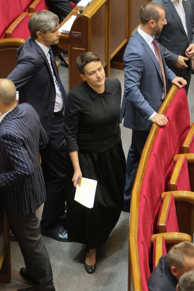 Савченко, Мода, Верховна Рада