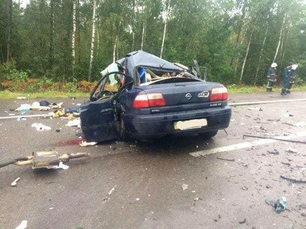 Аварія забрала життя 4 людей