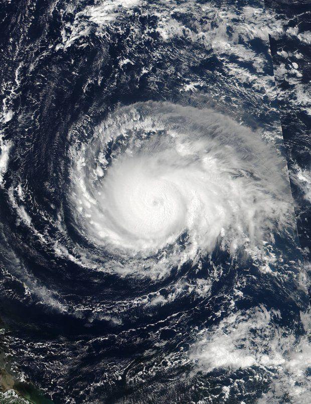 Фото урагану Ірма з космосу