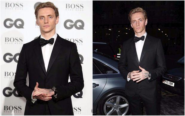 Сергій Полунін на врученні престижної премії Men of the Year Awards