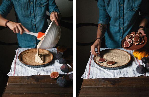 Тарт з інжиром та горіхами?: рецепт приготування з фото