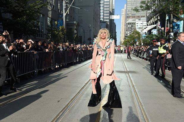 Lady Gaga під час Міжнародного кінофестивалю у Торонто, 2017