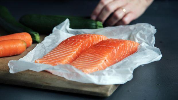 Жирні кислоти Омега-3 містяться в лососеві