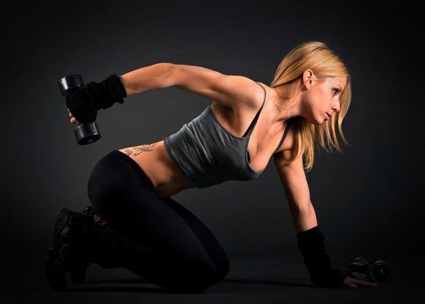 Не бійтеся силових вправ
