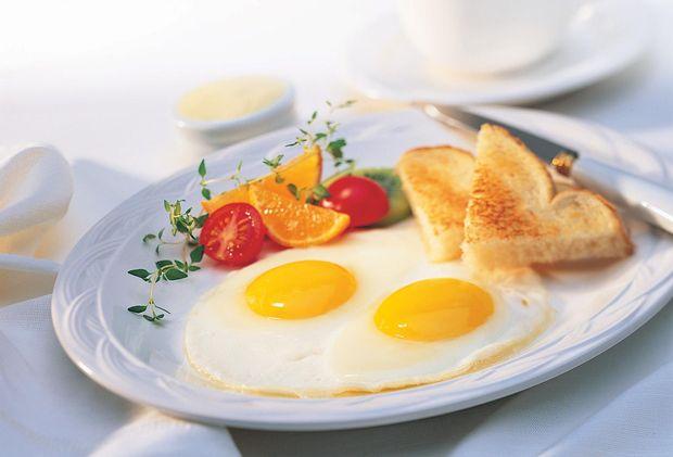 Рецепт яєчні від Девіда Розенгартена