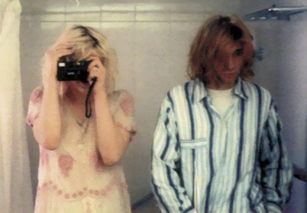 Кортні Лав і Курт Кобейн, 1992 рік