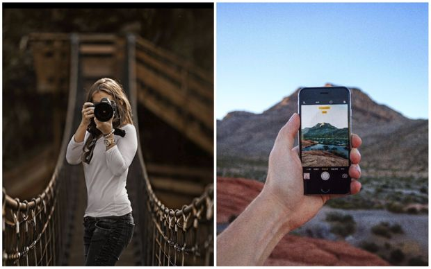 Цифровими фотоапаратами сьогодні користуються лише фотографи