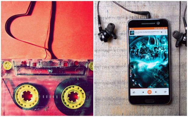 Магнітофон vs плеєр смартфона