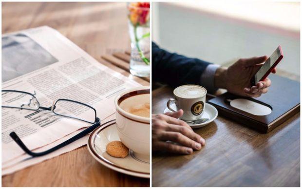 Завдяки смарфону новини можна читати будь-де та будь-коли
