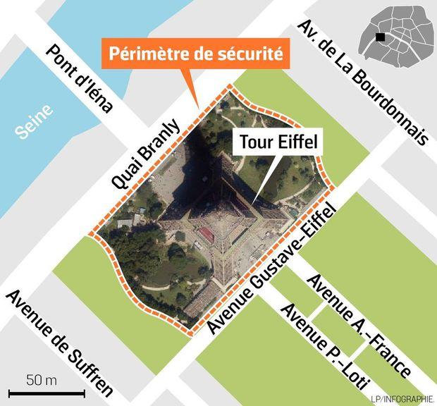 Стіна навколо Ейфелевої вежі: де вона пролягатиме