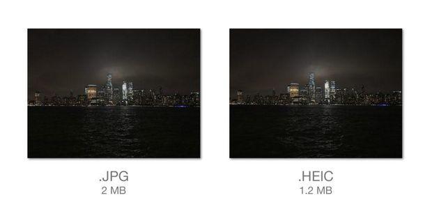 Нові формати фото та відео в  iOS 11