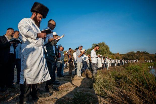 Паломництво хасидів в Умані