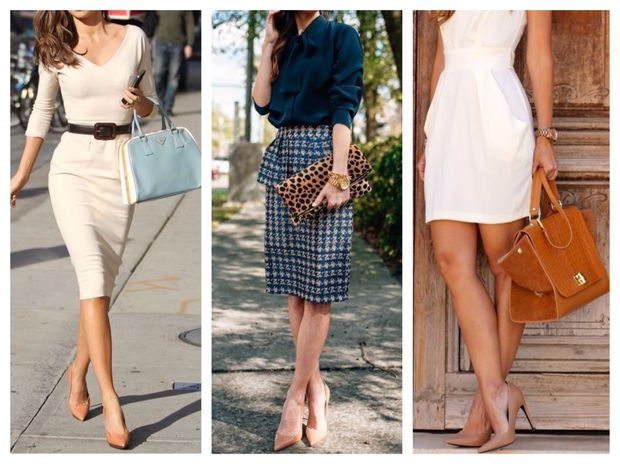 Обирайте взуття тілесного кольору