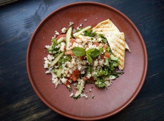 Рецепт веганського салату