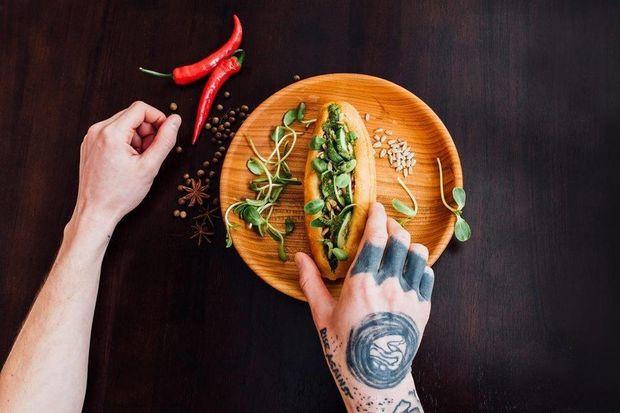 Рецепт веганського хот-догу
