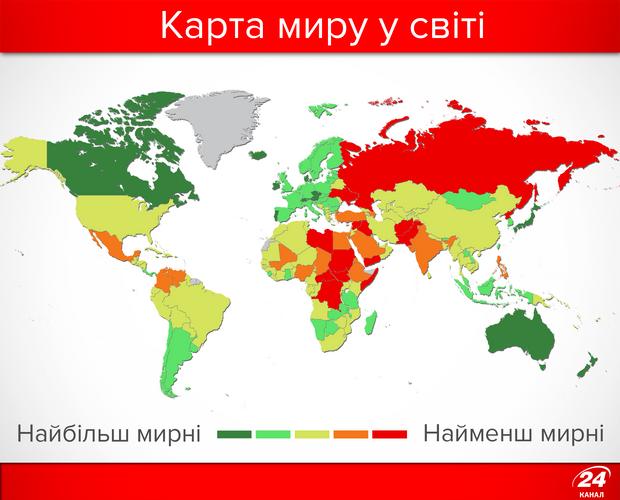 Карта миру у світі