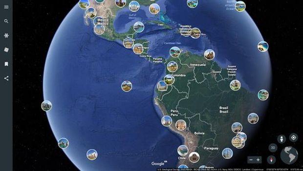 Google проинформировала о введении нового функционала Google Earth