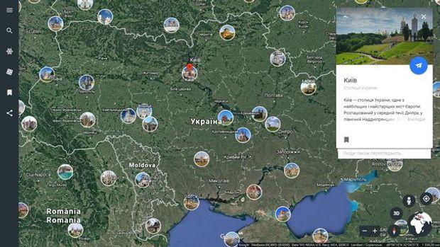 Создатели Google Earth представили новейшую функцию