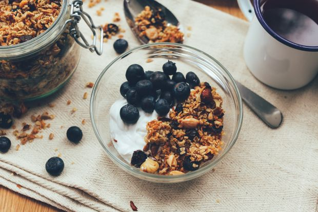 Гранола на сніданок