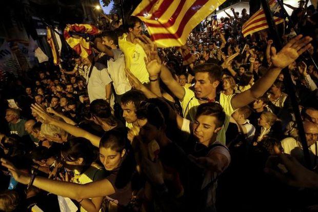 Мітинг за референдум у Каталонії