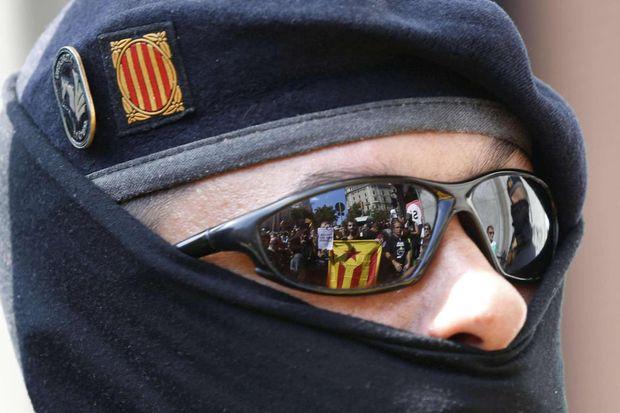 Прихильник референдуму в Каталонії