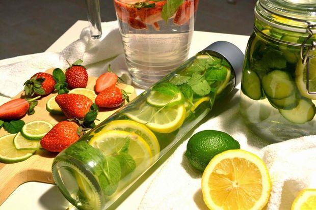 Рецепт огірково-лимонного детокс-напою