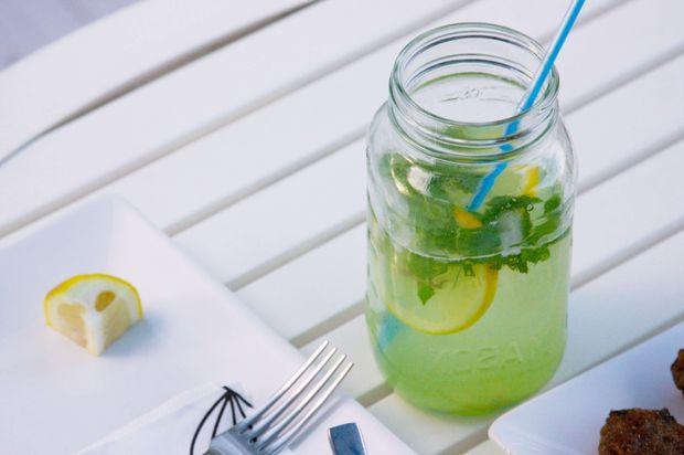 Рецепт імбирно-м'ятного детокс-напою